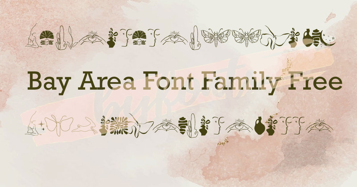 Bay Area Font Family Free Download Premium